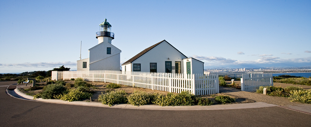 Point Loma Lighthouse, San Diego, California.