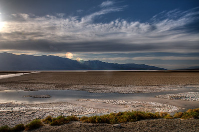 © Joseph Dougherty. All rights reserved.   Badwater, lowest point in the continental USA.   Death Valley National Park.