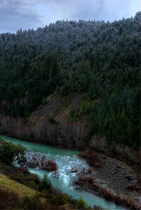 © Joseph Dougherty. All rights reserved.   South Fork of the Eel River.