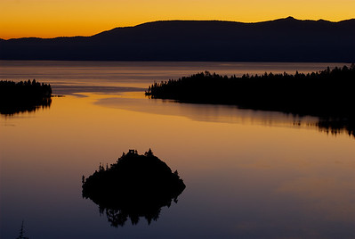 © Joseph Dougherty. All rights reserved.  Daybreak over Emerald Bay.