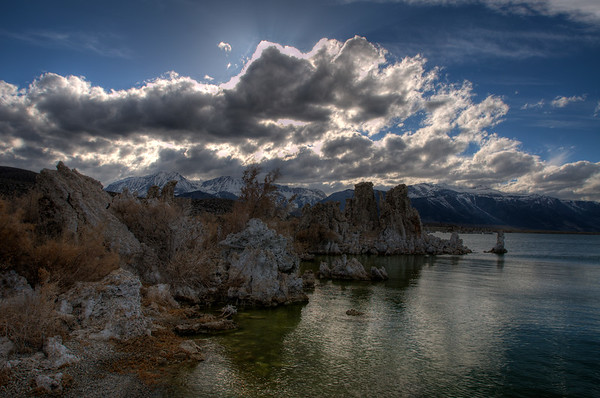 Mono Lake and the Long Valley Caldera Field