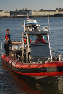 © Joseph Dougherty.  All rights reserved.   Oakland Fire and Rescue aquatic patrol.