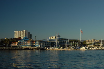 © Joseph Dougherty.  All rights reserved.   Jack London Square, from the water.