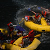 © Joseph Dougherty. All rights reserved. <br /> <br /> Rafting on the American River through Sacramento.<br /> <br /> Sacramento County, CA.