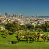 © Joseph Dougherty, All rights reserved.    Dolores Park, in the Mission District.
