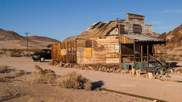 The Ghost Town Rhyolite, Nevada