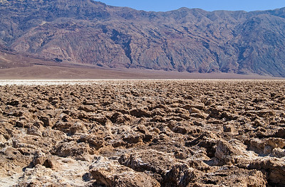 Devil's Golf Course in Death Valley National Park
