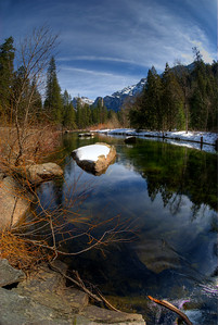 Merced River in late winter.