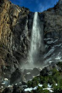 © Joseph Dougherty. All rights reserved.   Bridalveil Falls