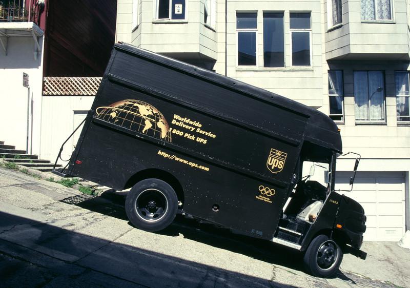 Mail Van San Francisco