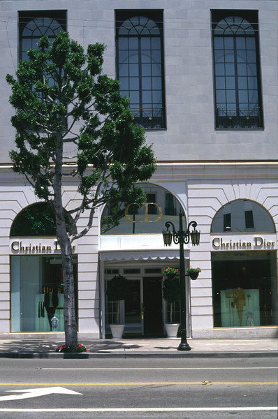 Christian Dior Shop at Rodeo Drive Los Angeles