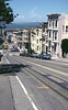 San Francisco hill view from Mason Street