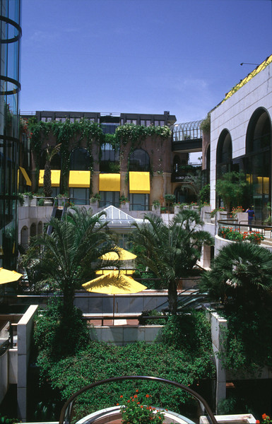 Shopping Mall Rodeo Drive Los Angeles