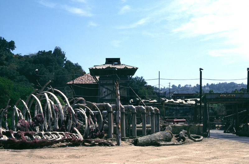 Jurrasic Park 2 set Universal Studios Los Angeles