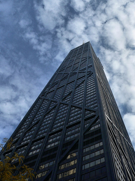 John Hancock Center - 100 stories.<br /> <br /> .