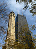 The Water Tower dating back to the great fire.  One of the few structures to survive.<br /> <br /> .