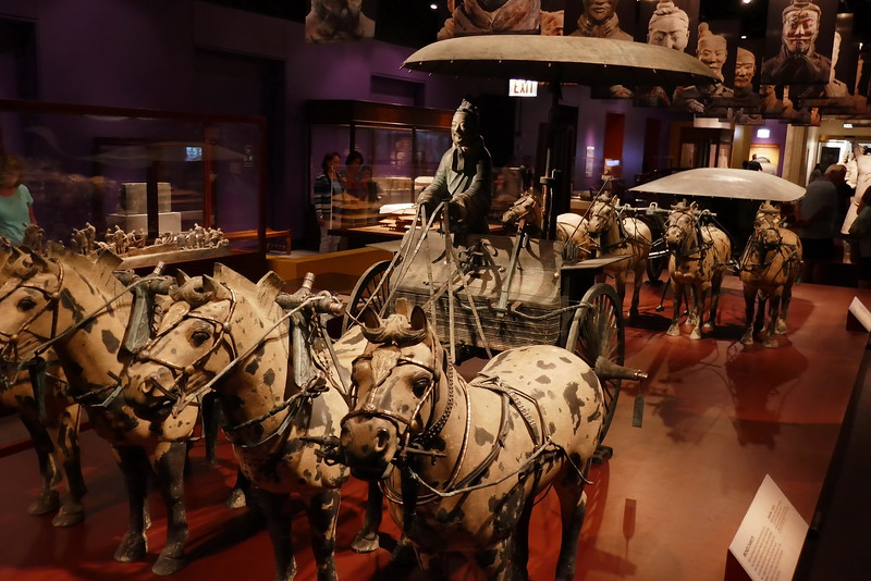 "Terracotta Warriors ""Bronze Chariots"" at the Chicago Field Museum"