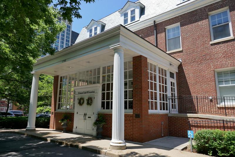 Womens Club of Evanson - reception location