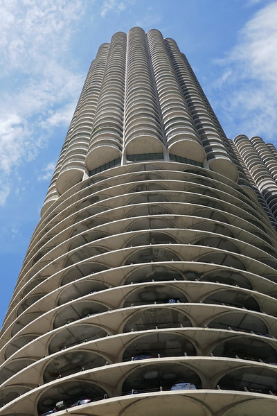 Marina Towers (aka Jetsons' buildings)