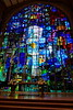 Alice Millar Chapel with Chagall like stained glass windows
