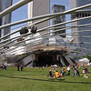 The Pavlilion in Millenium Park.