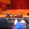Live taping of Wait! Wait! Don't Tell Me! -- the NPR news quiz in Millenium Park.