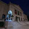 The Art Institute of Chicago has two of my favorite lion sculptures.