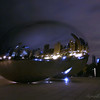Night at the Cloud Gate.