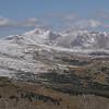 Looking over to Mt Evans.