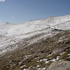 Road continues to the top of Mt. Evans at over 14000' - The highest paved road in America.