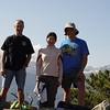 Paul, Chiyoko & Guy.<br /> Deer Mountain Summit - 1013'