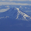 Mt. Adams from the air.<br /> Flying out of Portland on July the 4th.