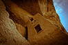 Tower in Cliff Palace in Mesa Verde National Park