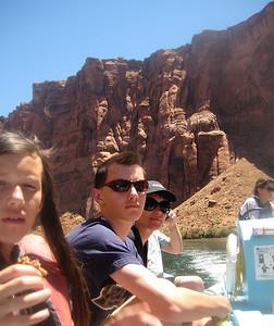 Colorado river and Lake Powell