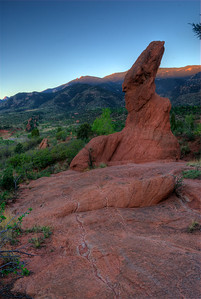 © Joseph Dougherty. ALL RIGHTS RESERVED.   Garden of the Gods at dawn
