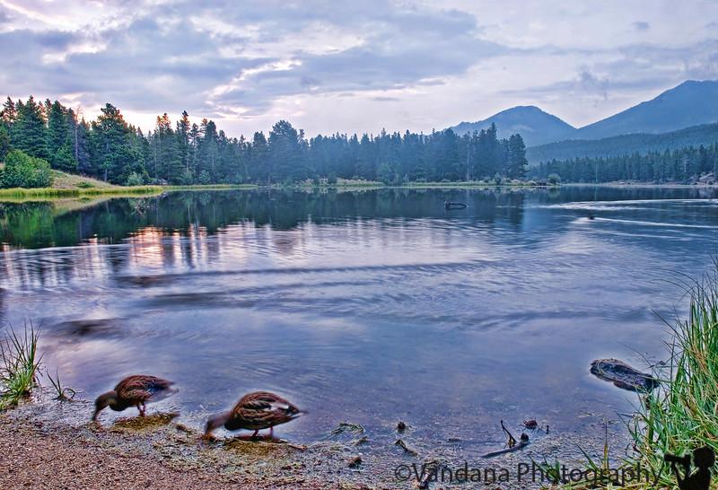 Early morning @ Sprague Lake, Rocky Mountain National Park