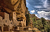 Cliff Palace, Mesa Verde National Park..a castle nestled in the San Juan mountains, CO