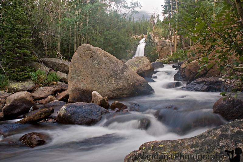 Alberta Falls, Rocky Mountain National Park -