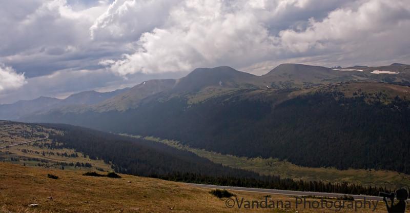 Rocky Mountain National Park - the road to Estes Park