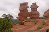In Garden of the Gods, Colorado Springs - the Siamese Twins , on the Palmer Trail