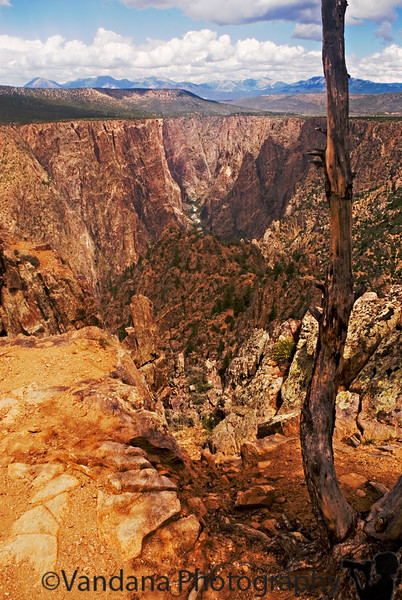 Black Canyon of the Gunnison ( the little river at the bottom that made this huge canyon!)National Park, CO