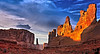 The Courthouse, Arches National Park,Utah.