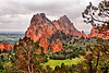 In Garden of the Gods, Colorado Springs - on the Palmer trail