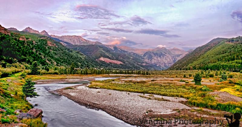 Telluride, CO - post sunset