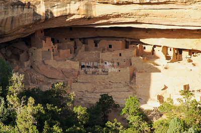 Cliff dwellings at Mesa Verde National Park, a UNESCO World Heritage Site