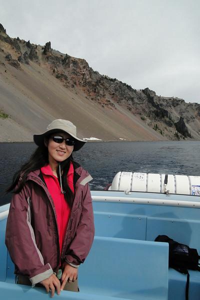 The Devils Backbone.<br /> Boat trip to Wizard Island.