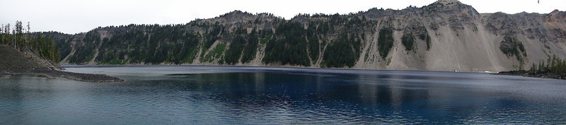 The view from Fumarole Bay