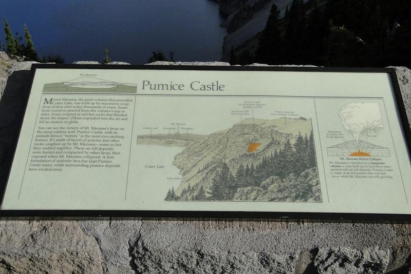 The Pumice Castle.