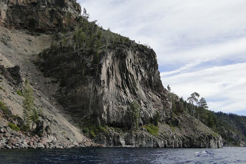 Boat trip to Wizard Island.