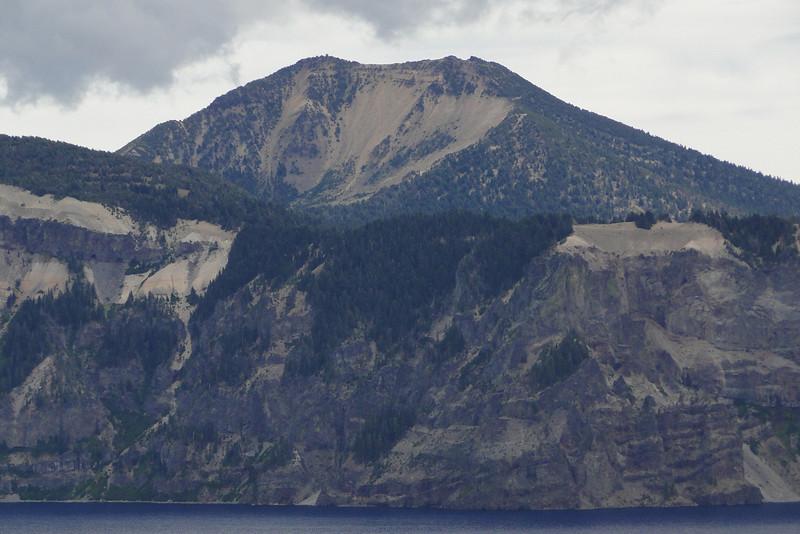 Mt. Scott from the Wizard Island Summit.